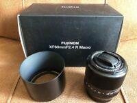 Fujifilm 60mm f2.4 Macro lens