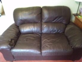 Free 2 x2 seater sofas and reclining chair