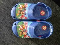 Paw patrol slip on sandal