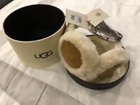 UGG Classic Sheepskin Chestnut Wired Earmuffs