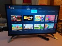 BRAND NEW BOXED LUXOR 40 inch SMART FULL HD led tv with wifi, freeview hd, FREEVIEW PLAY