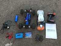 Radio Controlled RC Car, 1/10th, Electric, EP, 4WD, 4 Wheel Drive, Prime Onslaught