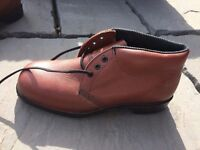 Leather Brown Steel Toe Capped Boots