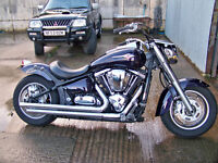 motorcycle vn2000. bobber