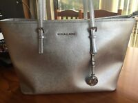 Gorgeous Metallic Michael Kors Handbag. Would make lovely Xmas pressie