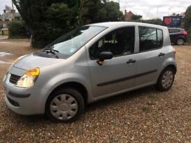 EXCELLENT CHEAP LOW MILEAGE RENAULT MODUS OASIS 1.4 MANUAL - SERVICE HISTORY \MOT