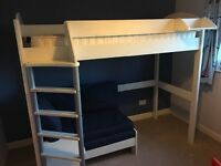 Stompa High Sleeper Bed with Sofabed Underneath