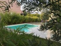 villa near sea, mountain , Spain ( France ) Perpignan south