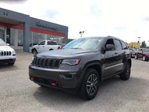 2017 Jeep Grand Cherokee Trailhawk-4WD,LEATHER HEATED SEATS,SUNR