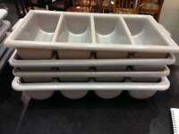 Cutlery tray 4 compartments