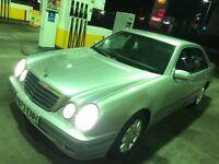 Mercedes-Benz E Class 2001 E200 Kompressor Elegance 4dr ** 1 OWNER FROM NEW ** FULL SERVICE HISTORY