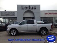 2013 RAM 1500 SLT 4X4 - 5 YEAR 160000 KM WARRANTY and APPROVED!