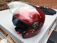 Nolan Classic N-Com Crash Helmet - size Large