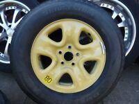 "16"" Wheel with Brand New Bridgestone Dueler HT 225/70R 16 102S"