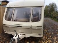 1999 lexon 4 berth caravan all paperwork and keys Cris reg