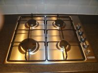 STAINLESS STEEL GAS HOB , ELECTRIC OVEN AND EXTRACTOR FAN