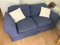 Blue sofa for sale