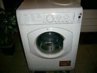 HOTPOINT AQUARIUS WASHING MACHINE SPARES OR REPAIR WORKS BUT NOISY