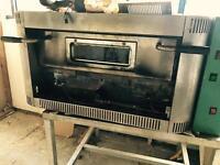 Lovely gas pizza oven
