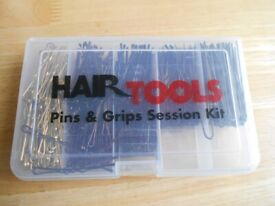 HAIR TOOLS PINS & GRIPS SESSION KIT NEW