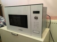 Bosch Built-In Microwave, White - Never Been Used