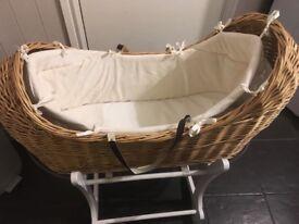 Mother care snug Moses basket