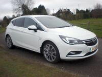Vauxhall Astra 1.6 CDTi Elite Nav 5dr Auto 2017 (17 Reg) Price £13295 Finance Arranged