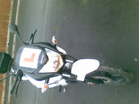 honda cbf125m-b good condition not used 18months 11months mot new battery just serviced