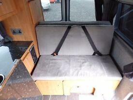 Campervan Motorhome 70k 2010 VW T5.1 Converted Van Pop Top garaged 4 Berth and Captain Seats