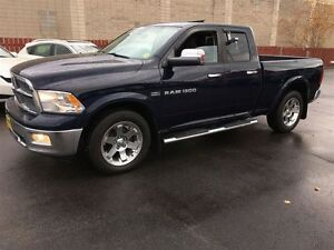 2012 Ram 1500 Laramie, Quad Cab, Automatic, Leather, Sunroof, He