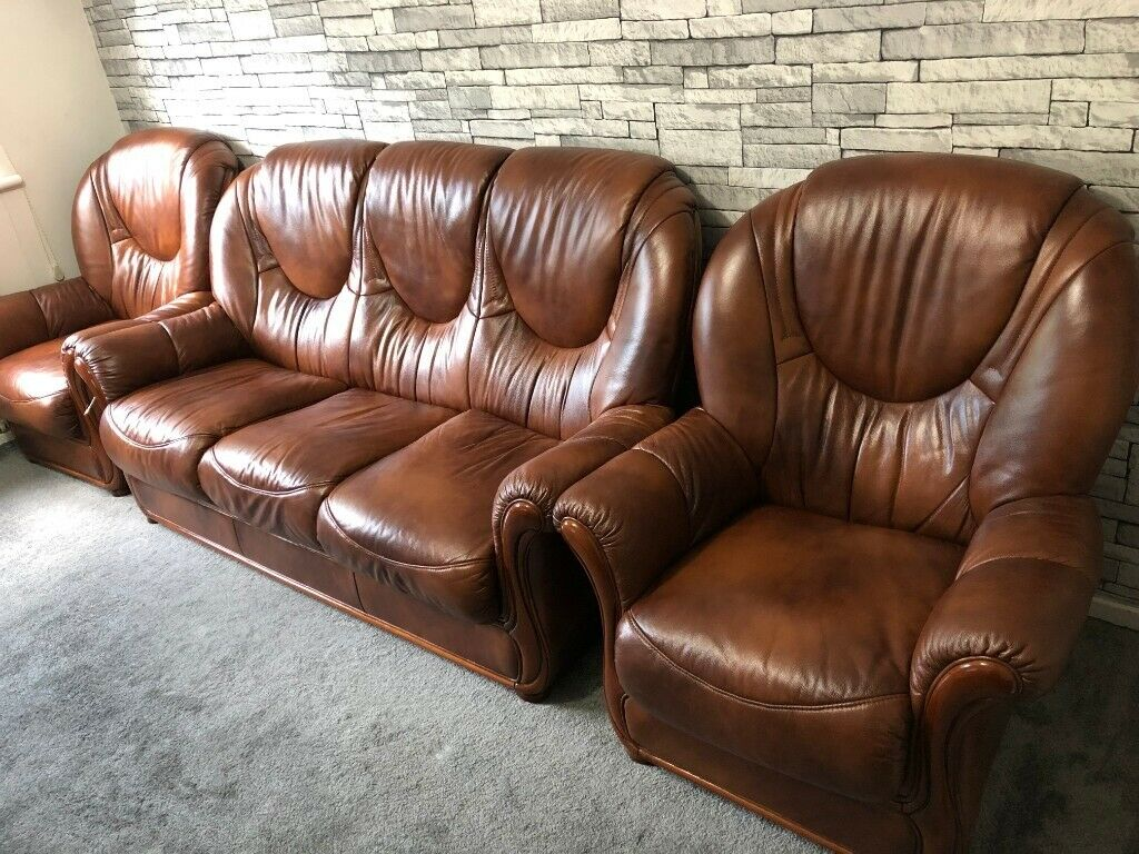 Prime 5 Seater Genuine Leather Sofa Amazing Condition In Stoke On Trent Staffordshire Gumtree Forskolin Free Trial Chair Design Images Forskolin Free Trialorg
