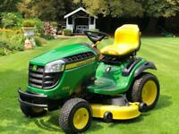 "John Deere X165 Ride On Mower - 48"" Mulch Deck - Lawnmower - countax/Westwood/Kubota"