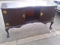 Stunning Dark-wood sideboard in lovely condition .