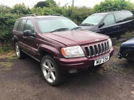 Jeep Grand Cherokee 2.7crd in for parts / call for prices