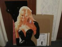 PAMELA ANDERSON (BARB WIRE) STANDEE NEW