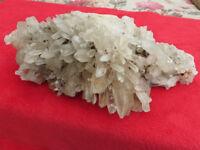 Large Quartz Crystal cluster formation
