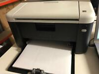 Mono Laser Printer Near New + tonner