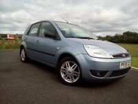 2005 Ford Fiesta Ghia Tdci £30 Road Tax Full Leather New Fresh Mot Superb Brilliant Drives Look Nice