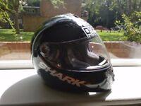 Shark S600 QR Code Motorcycle Full face Helmet