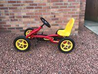 Berg Buddy Go-Kart In Red & Yellow