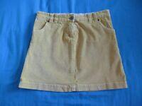 John Lewis Fine Cord Skirt - (Yellow, aged 10)