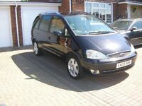 (2005) FORD GALAXY GHIA 1.9 TDI (130) MET/BLACK 7 SEATER (95000 MILES FSH IMMACULATE THROUGHOUT)