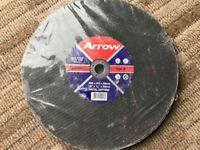 "300x3.5x20mm (12x1/8x3/4"") Arrow Saw Blade For Steel Cutting A30RBF"