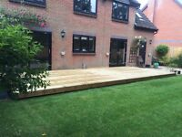 Decking, Fencing, Turfing. Also Old Decking Cleaned And Oiled.