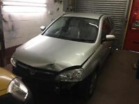 Vauxhall Corsa sxi+ 2006 CDti gearbox breaking full car