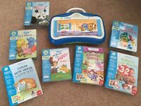 Leap Frog Little Touch LeapPad and 7 extra books