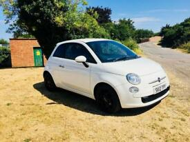 FIAT 500 TWINAIR PLUS, 1 Former Keeper, MOT July 2019, Leather, Bluetooth, Climate control 2012