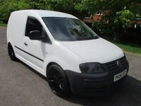 "2006 06 VOLKSWAGEN CADDY 2.0 69PS SDI VAN 18"" ALLOYS LONG MOT 3/2018 6 SPEED CRUISE TINTS PX SWAPS"