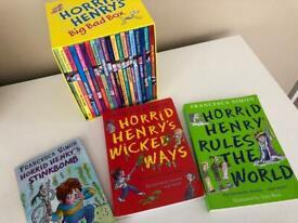 23 horrid Henry books