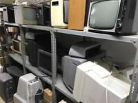 CRT TVs and Monitors